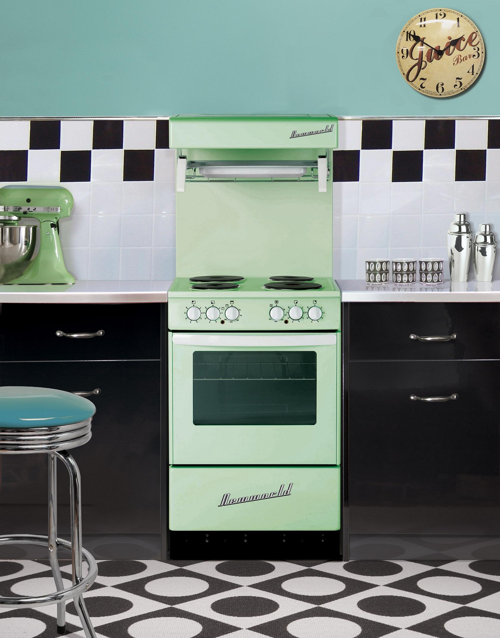 New World Kitchen Appliances New World Takes Retro To A New Level