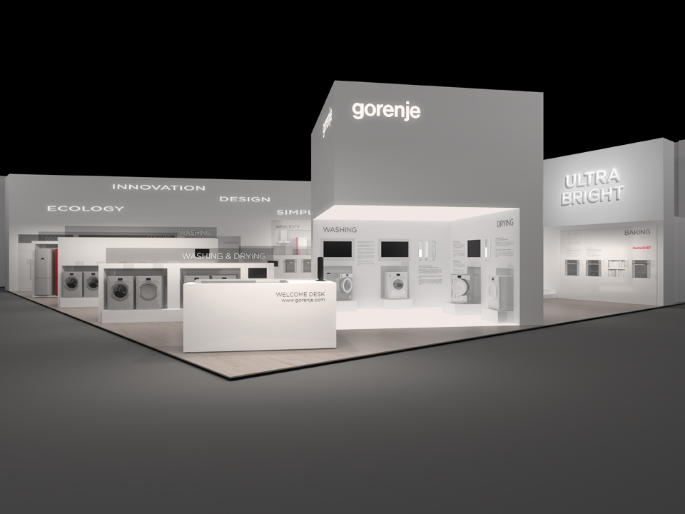 Simple Exhibition Stand Price : Gorenje exhibits at ifa fair