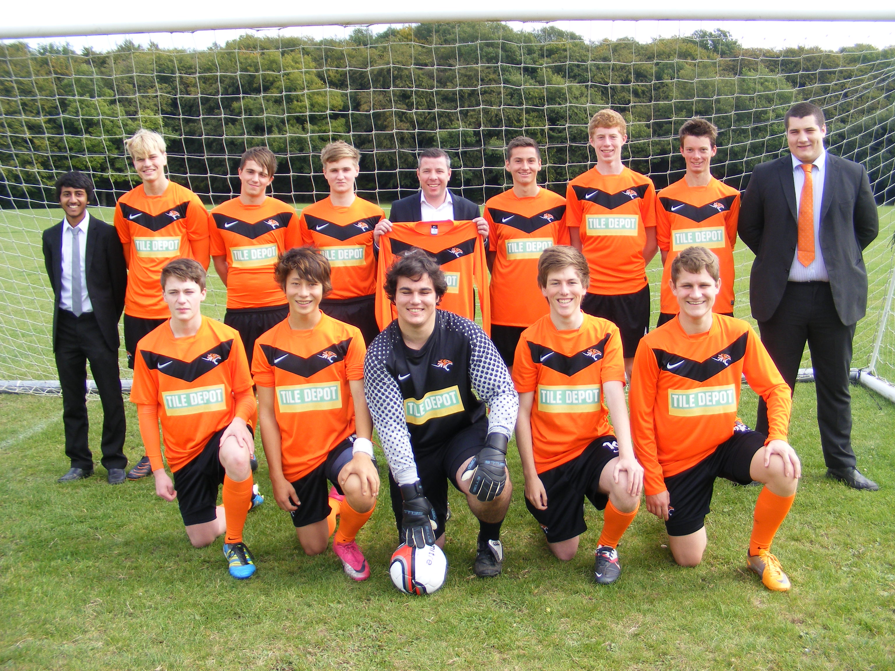Tile Depot sponsors Wycombe Tigers Youth FC  