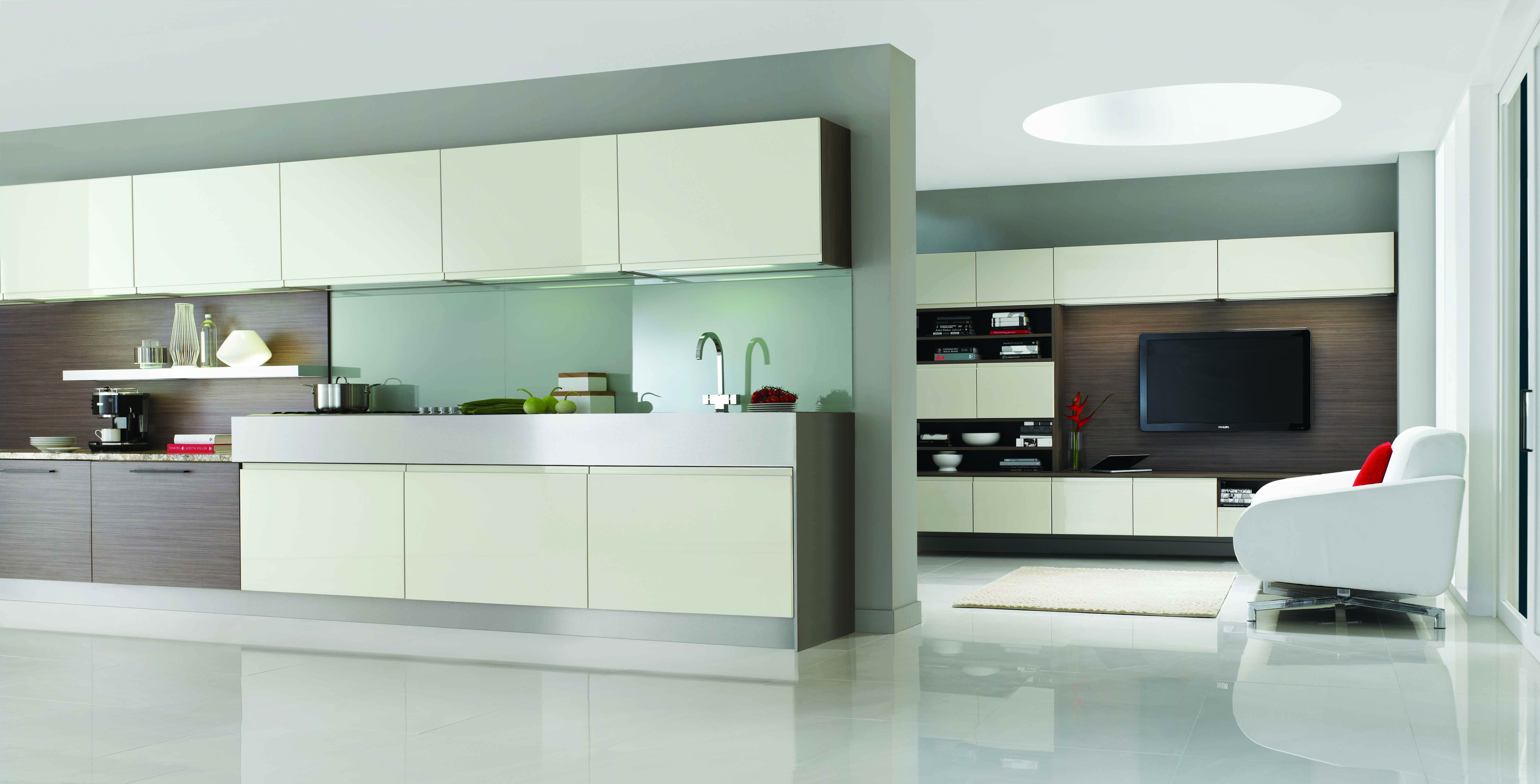 Delicieux A Stunning Kitchen And Living Space ...