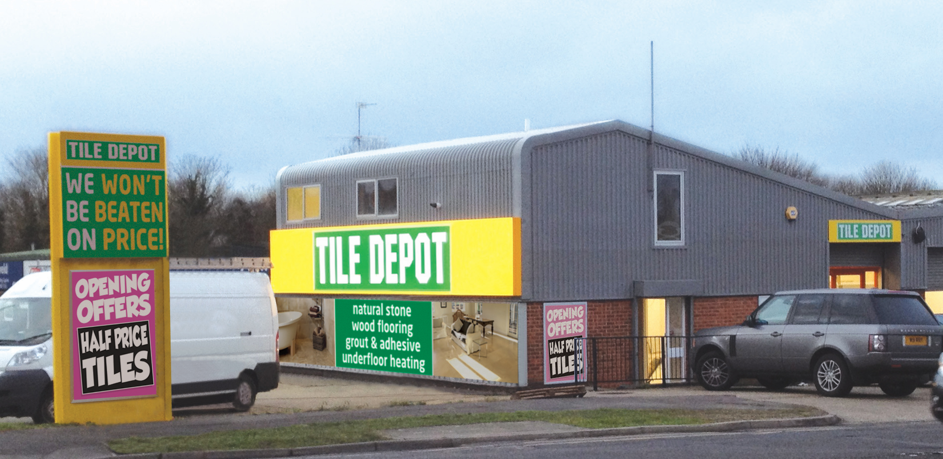 Tile Depot opens new store in Reading – Free products, extra ...