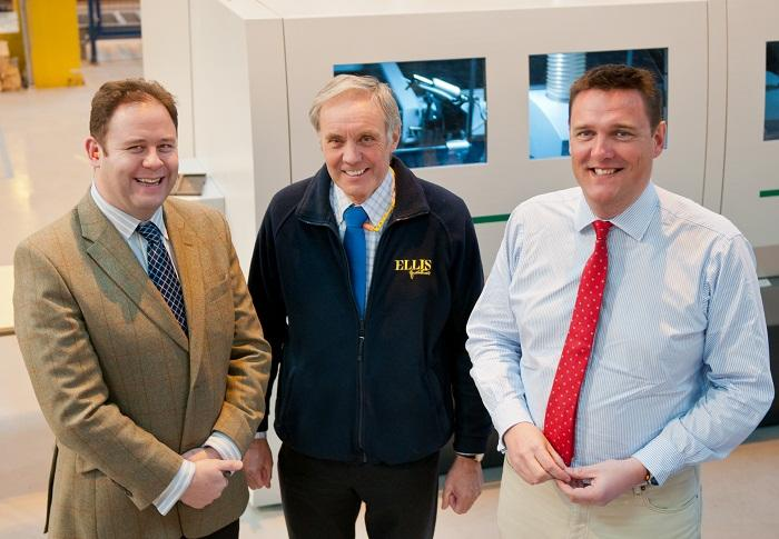 Bon (L) Tom Ellis, (Centre) David Hughes, (R) Richard Ellis, All From Ellis  Furniture