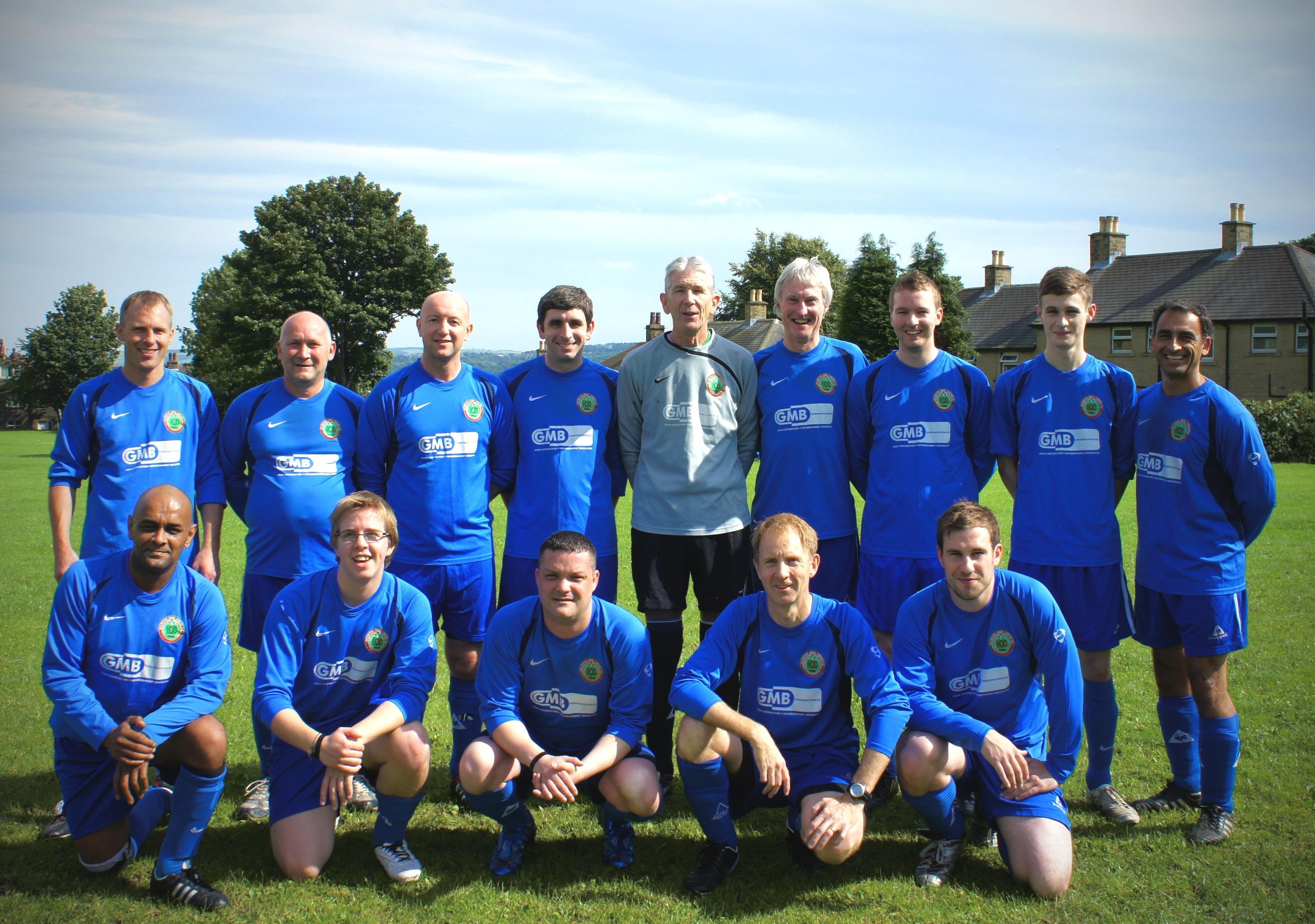Bon Ellis Furniture Charity Football Match Winning Team The Office Coats.