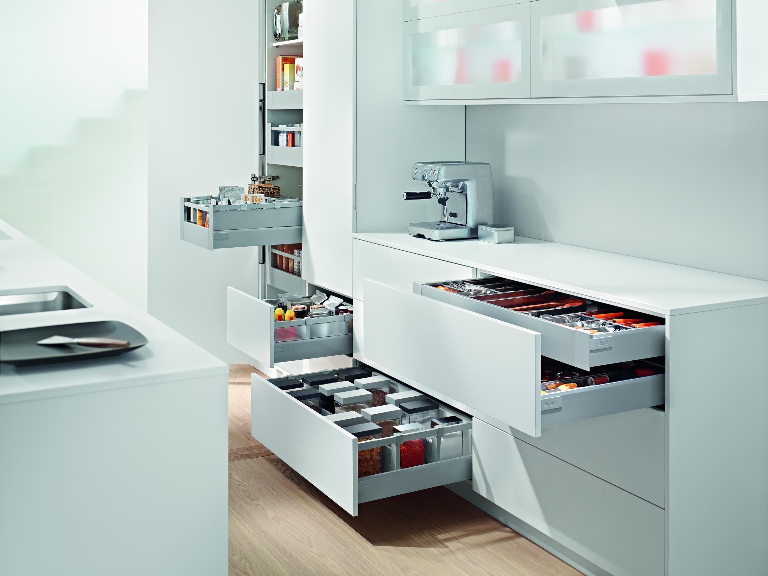 Blum meet a new audience at kbb for Kitchen upgrades