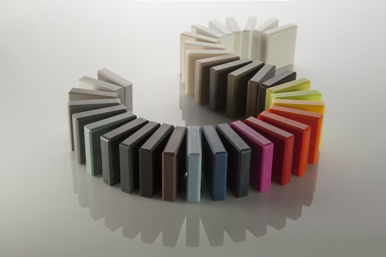 HIMACS® shows inspiration design possibilities at 100% Design # Wasbak Hi Macs_145319